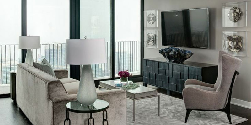 Condo Decorating Tips Neutral Colour Palette King Blue Toronto